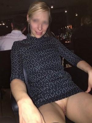 Jolie blonde Cannoise de 35 ans souhaite se faire un black